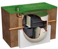 Domestic sewage treatment plants Buckinghamshire and Hertfordshire. Klargester fault. Installation. Diagram 2.